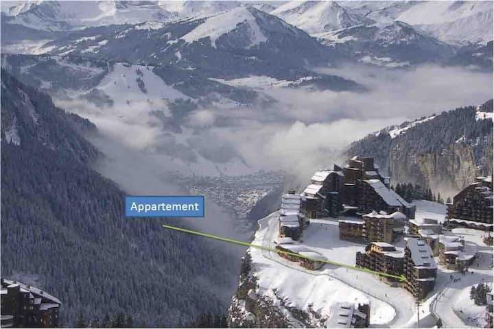 Appart 4p quartier falaise skis aux pieds