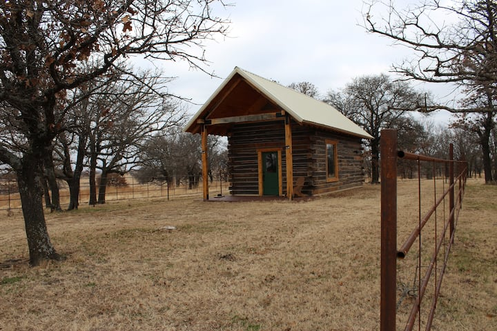 Newly Built Cabin in Heart of Osage County