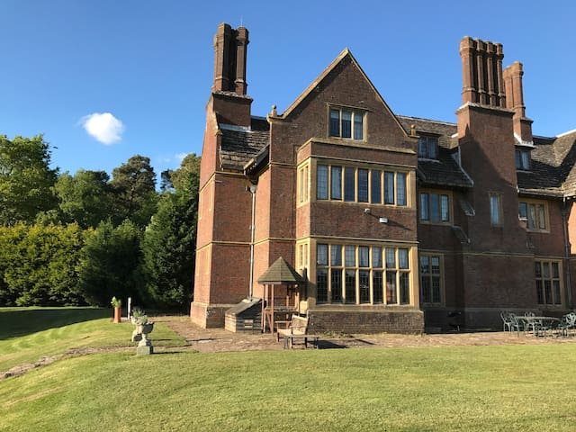 Horsham - Wing of Edwardian Manor with great view.