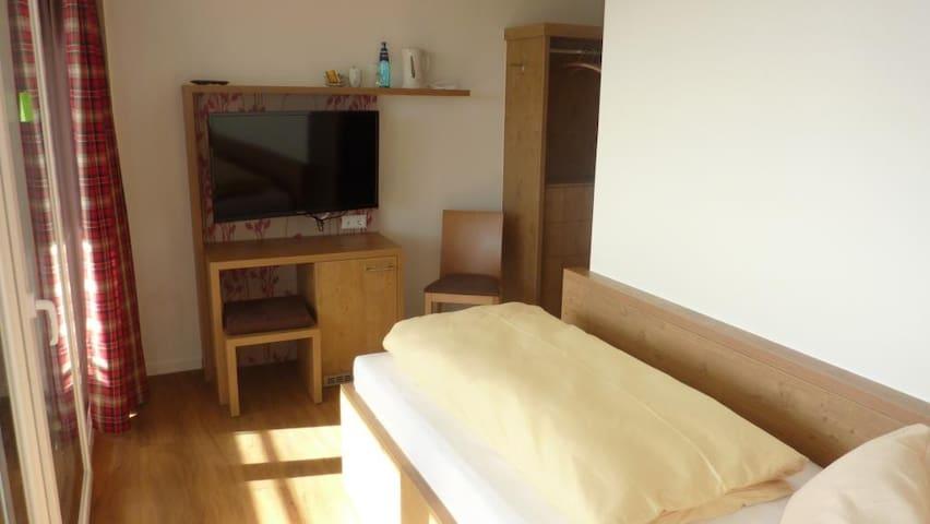 Landhotel Gasthaus SonneNeuhäusle, (St. Märgen), Nr. 31 - Komfort-Einzelzimmer mit Balkon