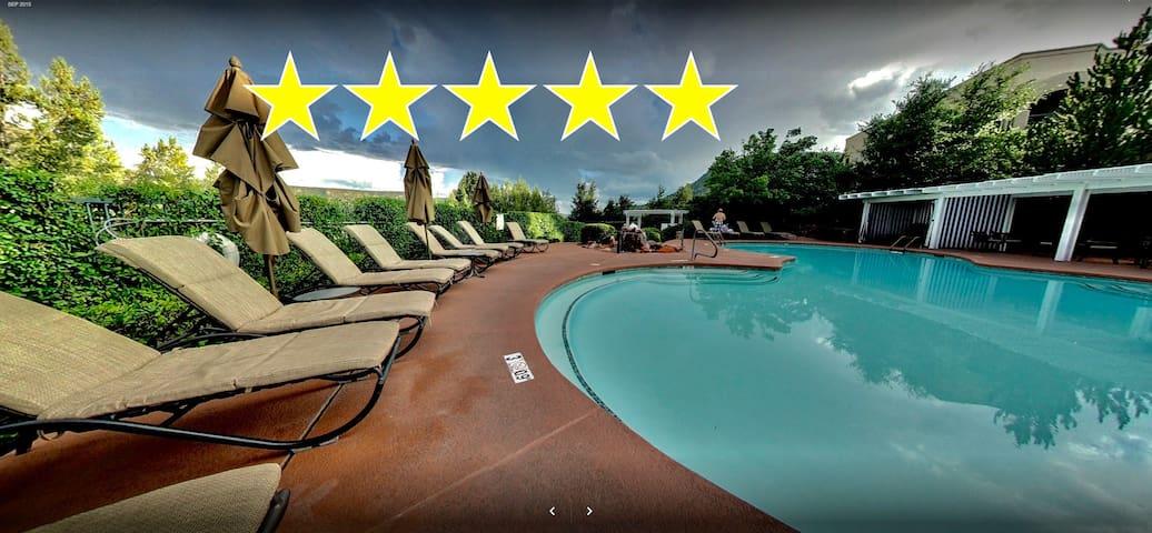 Voted BEST resort 1BR Next to SEDONA HILTON