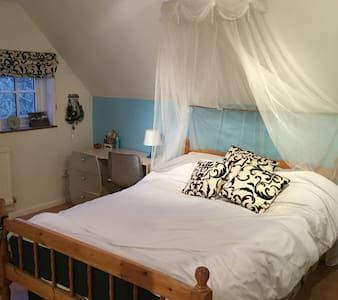 Spacious double room(s)cottage - Preston Bissett - Bed & Breakfast