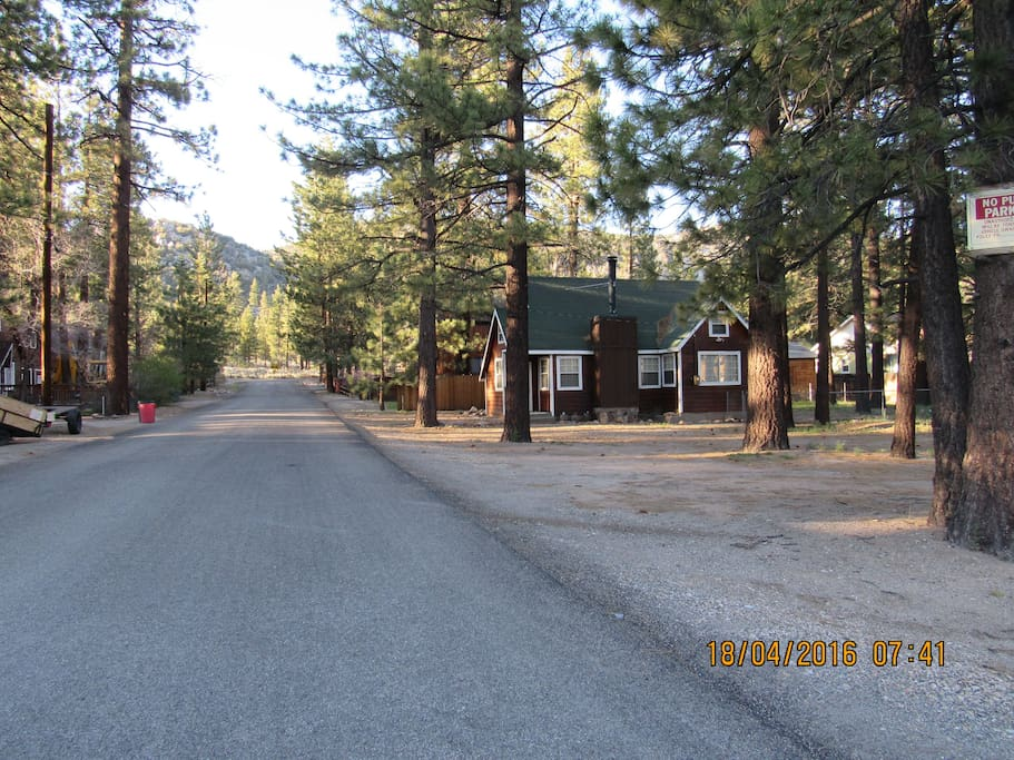 National Forest Hiking & Biking Trails at the end of the Street - one block from Cabin