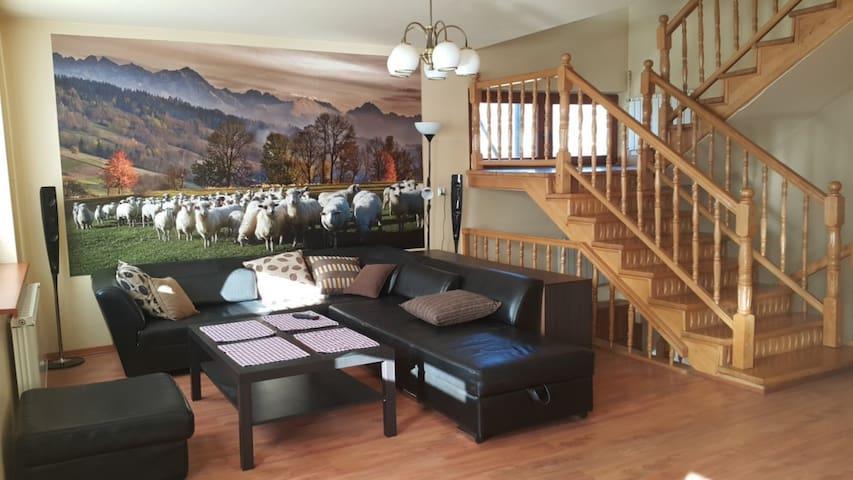 Dom w Leśnicy (Bukowina Tatrzańska) - Leśnica - House