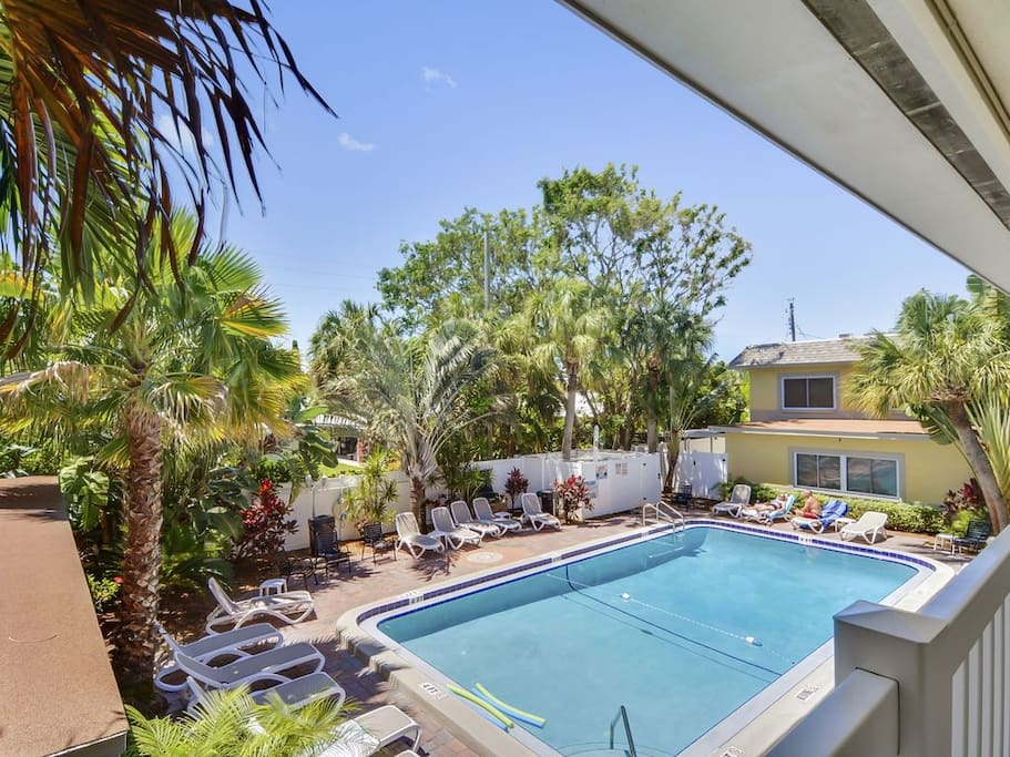 Lounge poolside or make dinner on the BBQ grill