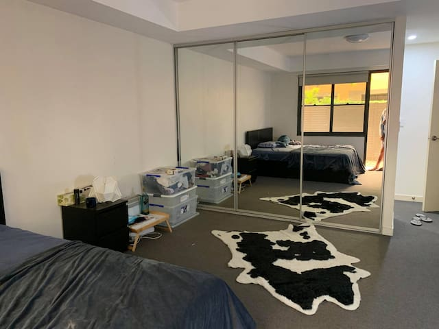 Private entrance, bedroom and bathroom near UNSW