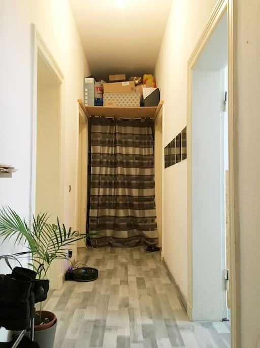Your private room is at the end of our corridor, on the right ;)