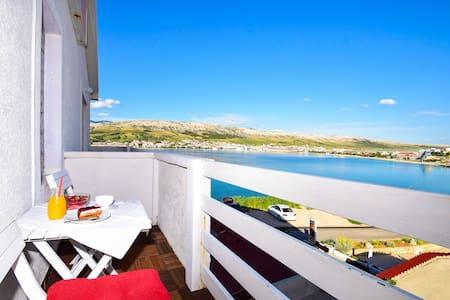 Revelin Guest House, Pag - Sea View - 佩格 - 住宿加早餐