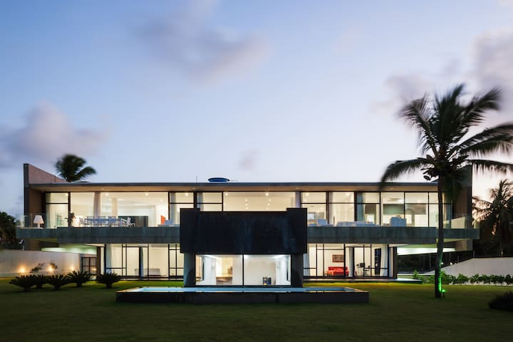 Hollywood house in Brazil - Tibau do Sul - Casa