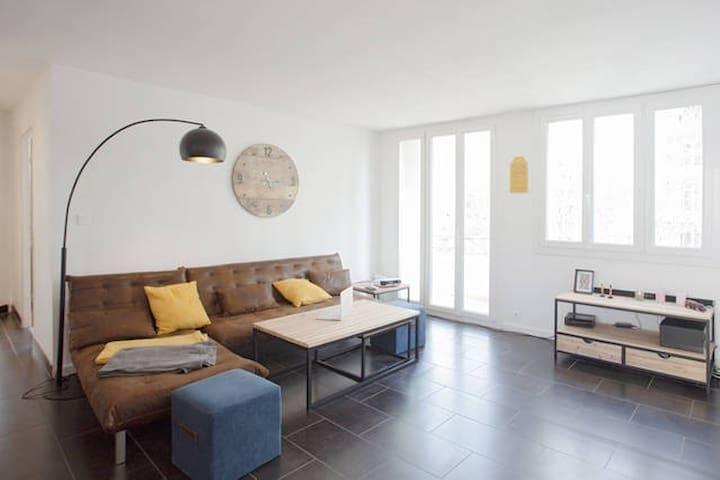 Chambre privée Appartement proche gare TGV - Toulon - Flat
