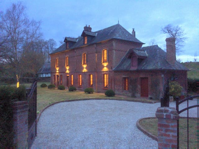 Stunning 5 bedroom French Manor house, Normandy - Beauval-en-Caux - Haus