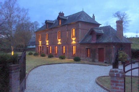 Stunning 5 bedroom French Manor house, Normandy - Beauval-en-Caux - Hus