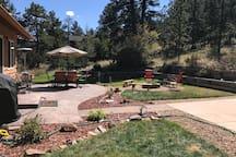 Backyard patio retreat