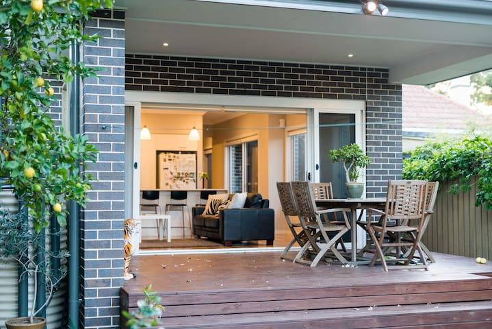 Ashfield, Sydney home: Food & Fun - Ashfield - Maison