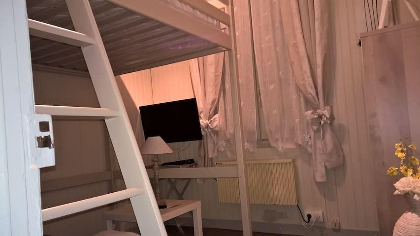 Mignon studio, bien situé - Dieppe - Wohnung