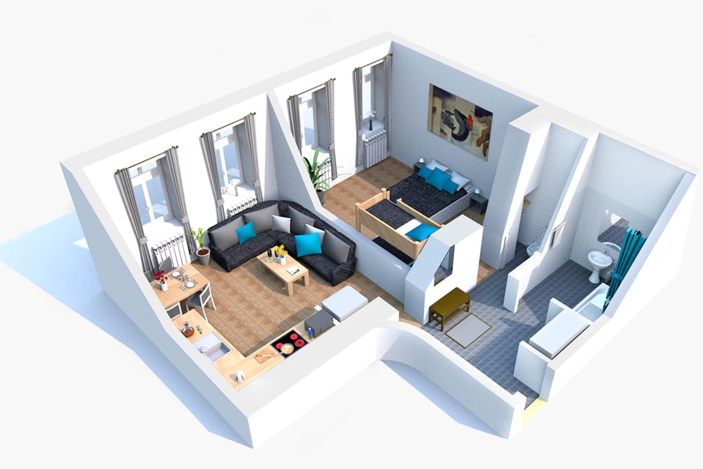 3d floorplan for your imaginations