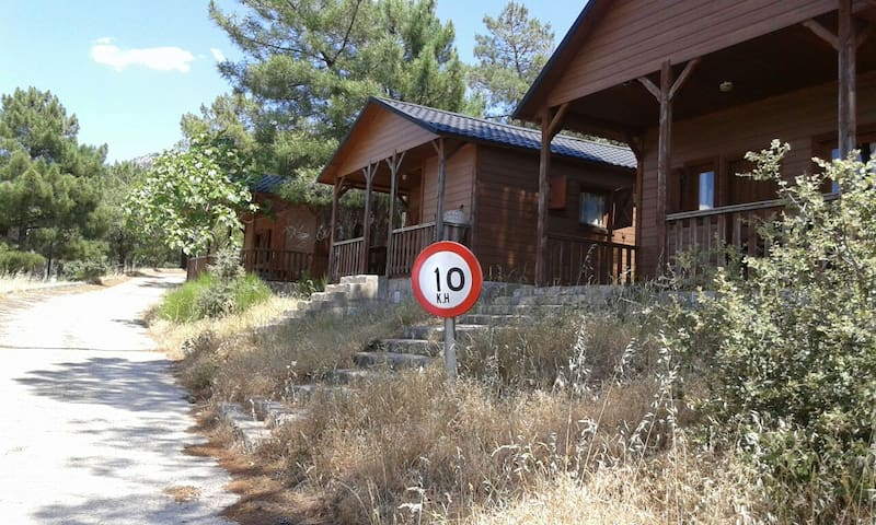 Cabaña de madera C alquiler  dias - Cenicientos - Chalet