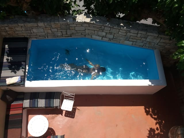 Private pool suite in Ancient Lappa!