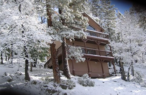 Mountainside Chalet inside Yosemite National Park!