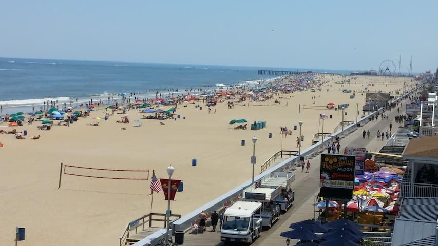 Ocean Front 12th & Boardwalk w/Spectacular Views!