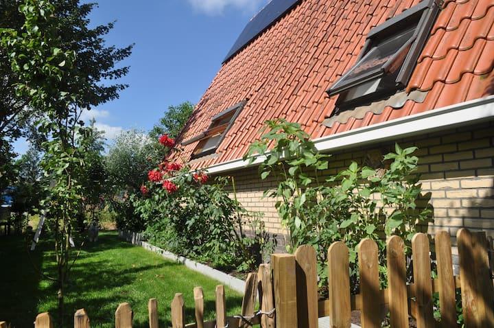 Gezellige vakantiewoning bij de Friese meren.