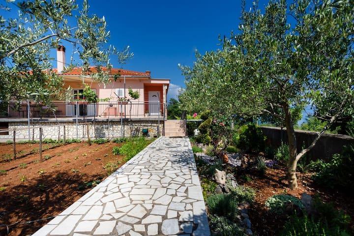 Apartment Anica 2 on quiet location, near Vrbnik