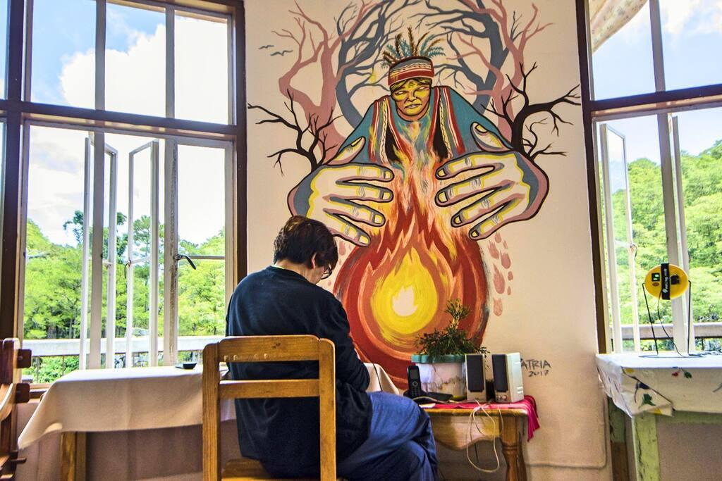 Inadakos welcomes music and art.