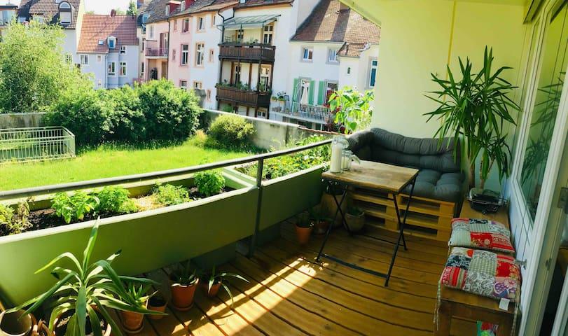 Gemütliches Apartment mit Balkon in Toplage