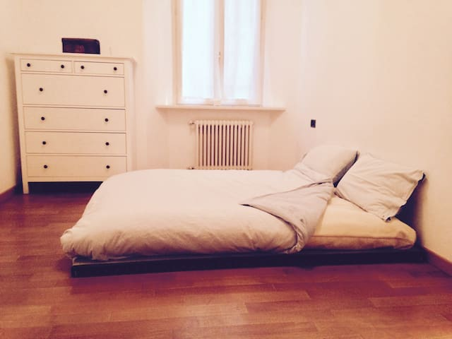 Futon Bedroom in Como Old Town