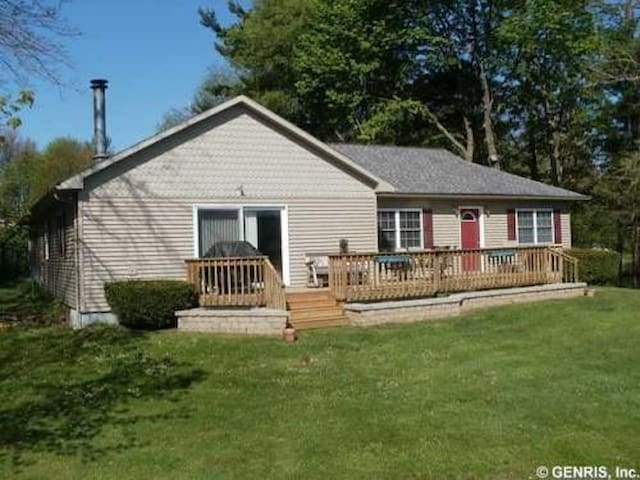 Fingerlakes Country Lakefront Cottage on Loon Lake - Wayland - Casa