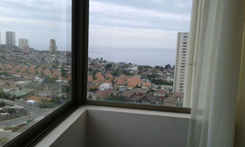 Vista dormitorio 1 principal