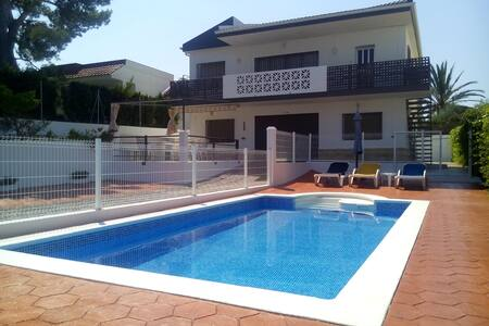 Lovely villa, 5 bedrooms PRIVAT POOL & 200M BEACH - L'Ampolla - 別荘