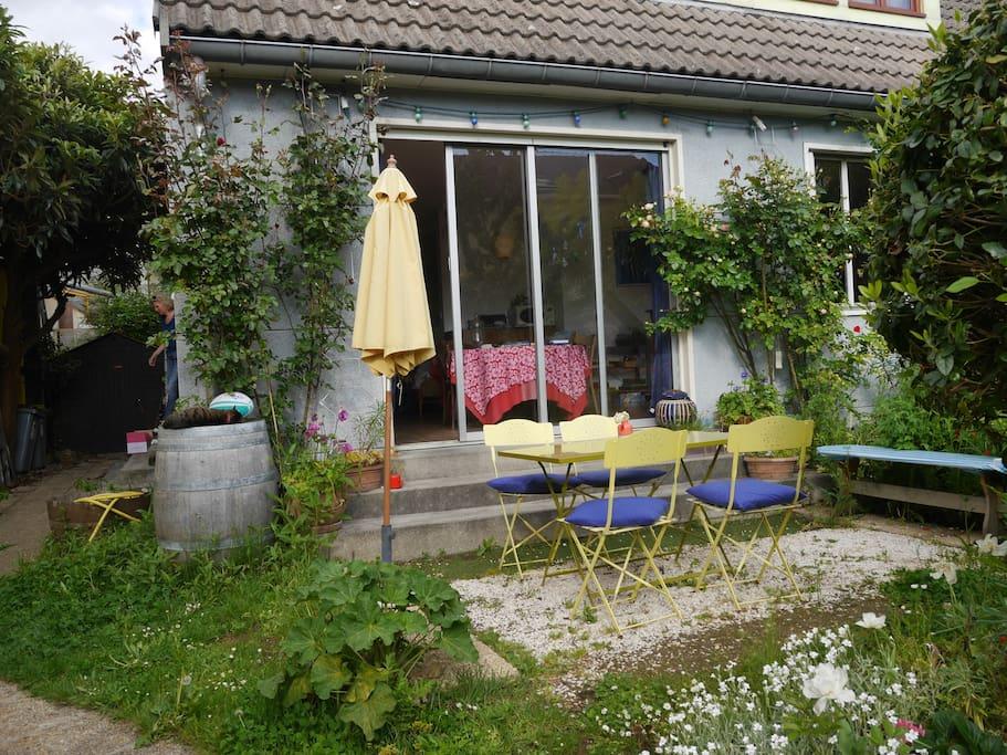 jardin convivial et pratique