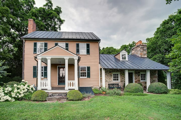 Historic Tip of the Hill, Purcellville, Virginia