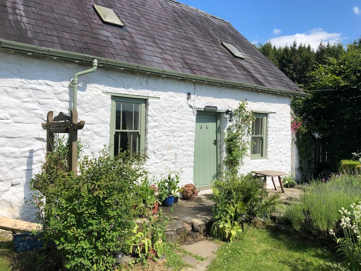 Traditional 18th Century Welsh Cottage