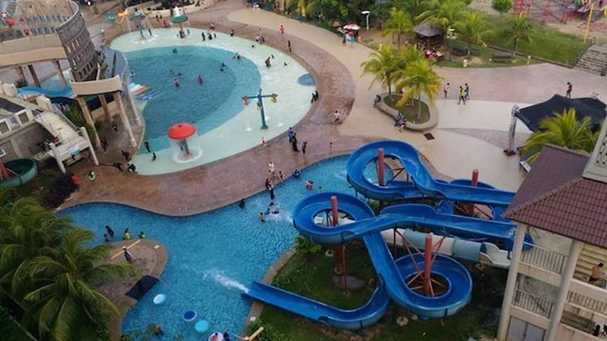 Laman Homestay ( Bayou Lagoon Park Resort ) - Melaka - Apartment