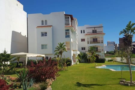 nice appt,close to beach.secure and private. - Oued Laou - Apartment