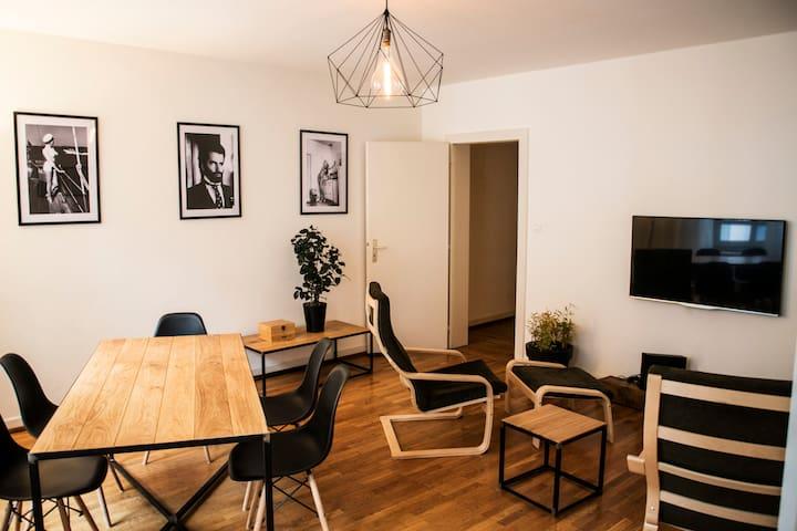 HYPER CENTRE - Grande chambre double - Strasbourg - Flat