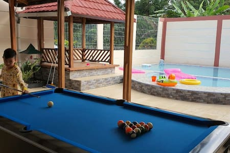 Villa asri puncak private pool and full playground