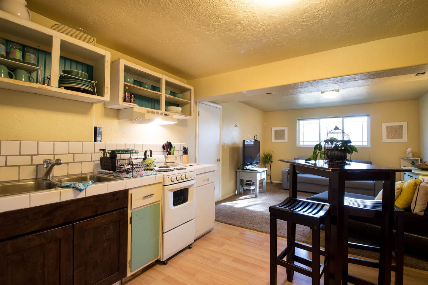 NEW PICS! My FrankinKitchen!! I salvaged 95% of the materials that went into building this kitchen.