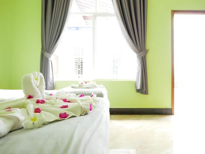 Blue Buddha Hotel - Twin Room A/C