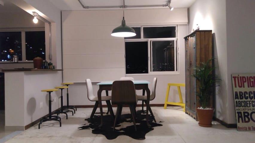 Loft para 4 pessoas no São Pedro - BH