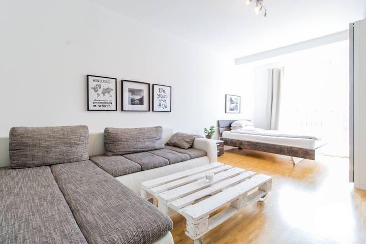 Komfortables Studio in Düsseldorfs bester Lage