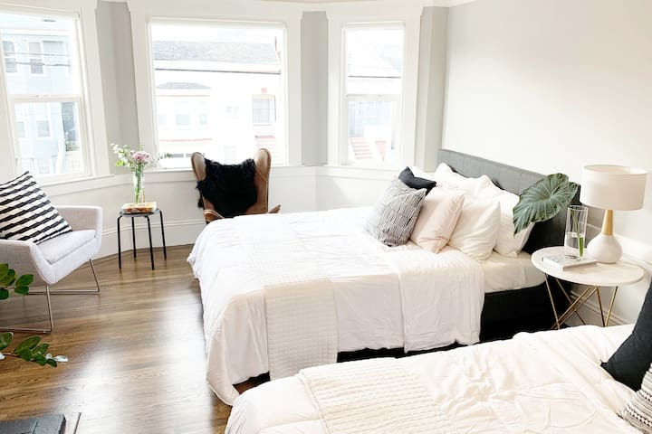 Gorgeous  Master Bedroom in Designer SF Home!