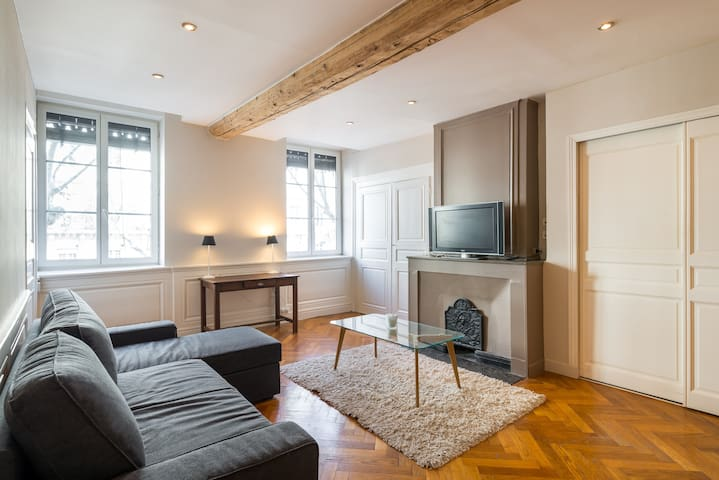Chic and Spacious apartment in the 6th - Foch - Lyon - Lejlighed