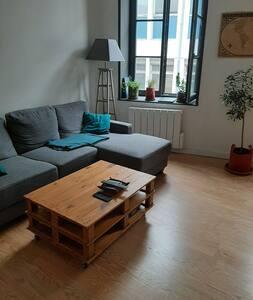 Appartement cocooning en plein centre de Roubaix