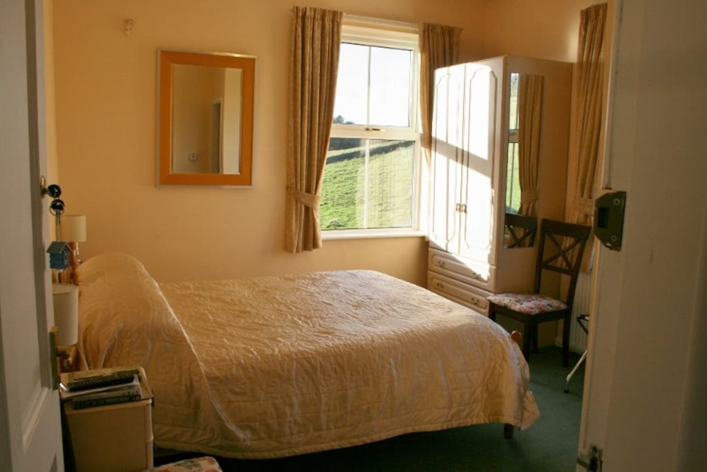 One of the double ensuite bed rooms