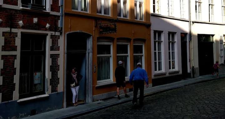 Vakantielogies 'De Nieuwe Tyger' in centrum Brugge