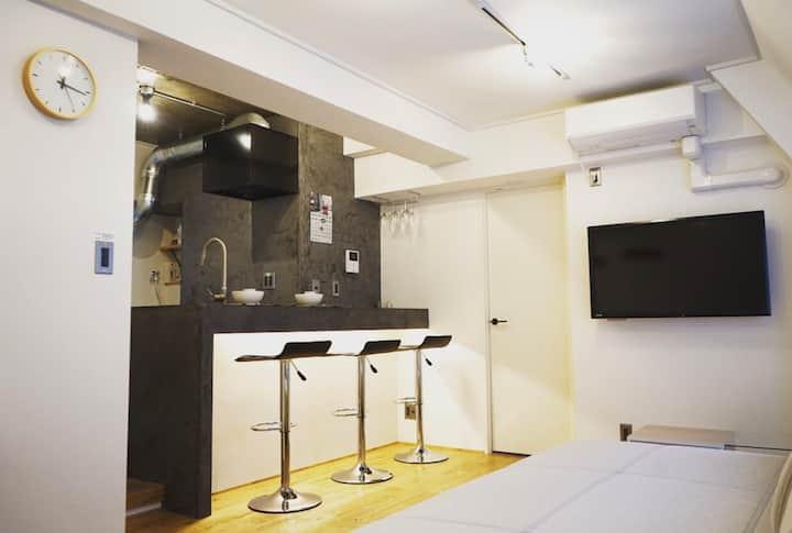 Enjoy Central Tokyo Yamanote Life, 1BR condo