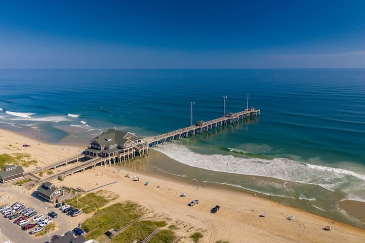 The closest beach access is Jennette's Pier. It's a 7 minute drive from the property!